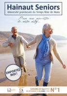 Couverture brochure avril 2016 - Hainaut seniors