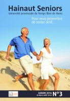 Brochure Hainaut Seniors - Mai 2016